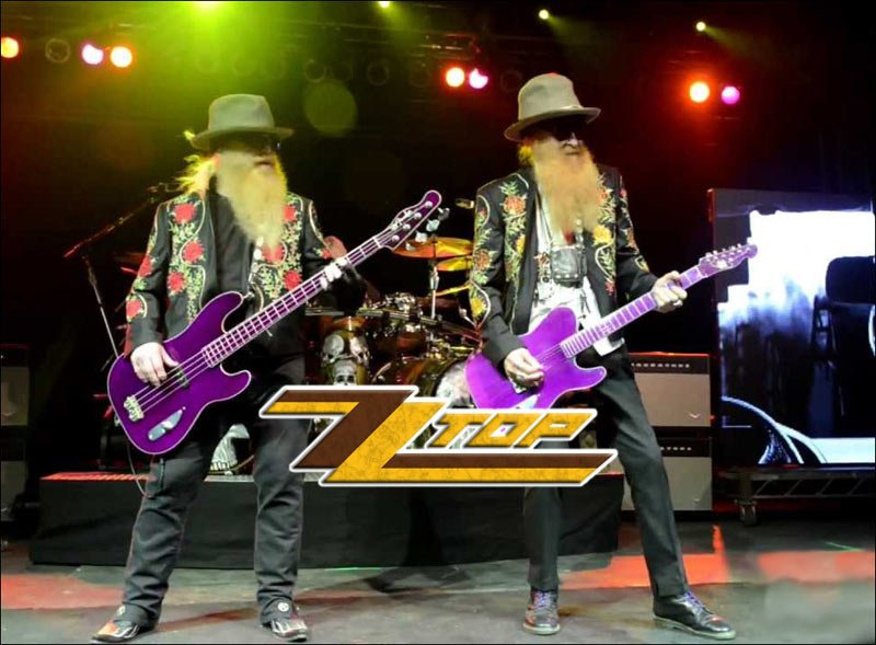 ZZ TOP Jammin' Live on stage! They were on their 2016 Hell Raisers Tour and now their 2017 Tonnage Tour, You Can Catch Them Live In Concert At A Venue Near You!