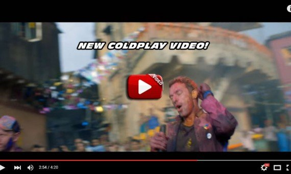 COLDPLAY and Chris Martin Rock it Out in their latest music video! Catch them on tour in 2016!