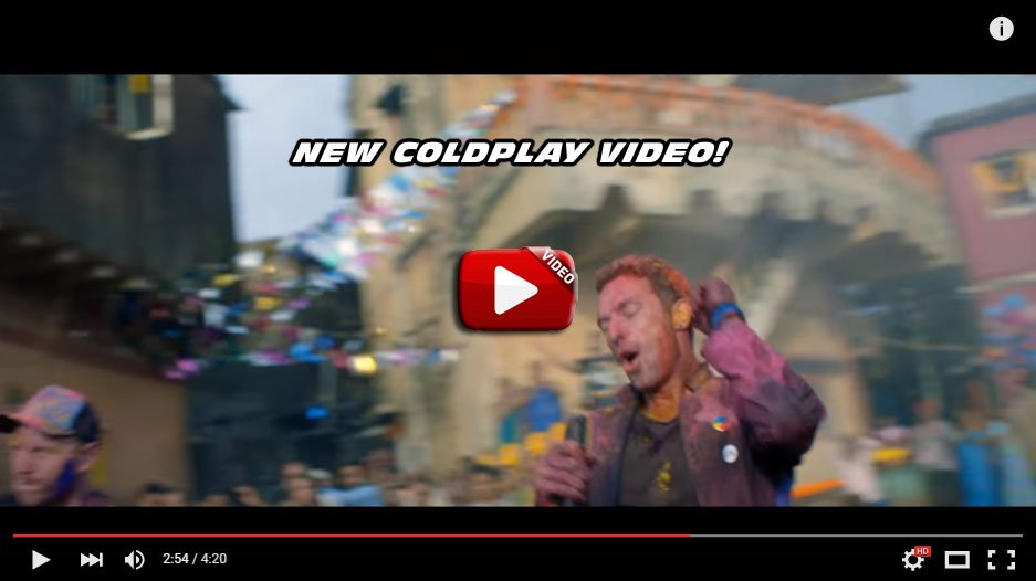NEW MUSIC VIDEO! Coldplay – Hymn For The Weekend (Official video), Coldplay fans, Watch Here!