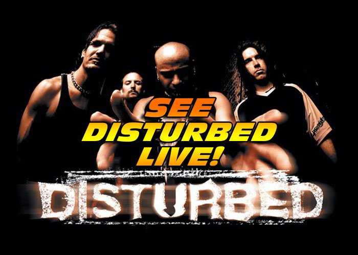 Don't miss your chance to see the band DISTURBED on their concert tour this year!