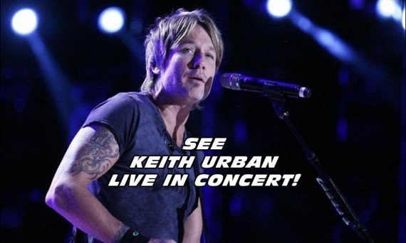 Get ready country music fans! Keith Urban is about to release his latest album RipCORD and then go on tour!