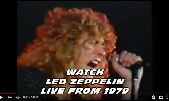 Robert Plant and Led Zeppelin rip up the stage in this awesome live performance filmed back in 1979.