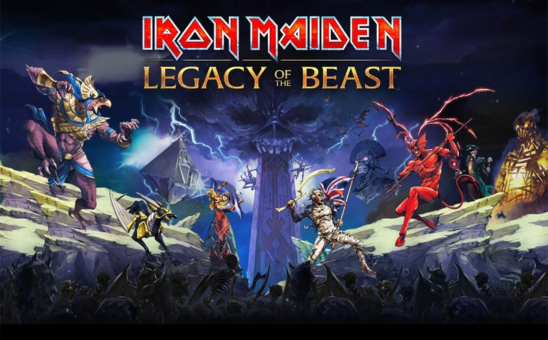 Coming in the Summer of 2016 is IRON MAIDEN: LEGACY OF THE BEAST. Sign up now to be one of the first to play!