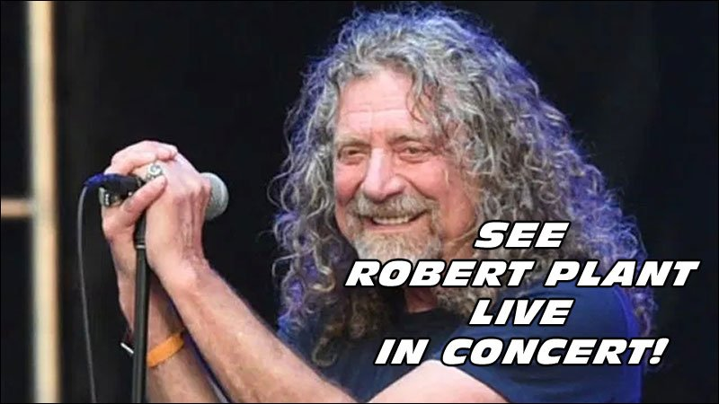Get Ready Music Fans! ROBERT PLANT is back and he's going on tour in March of 2016!