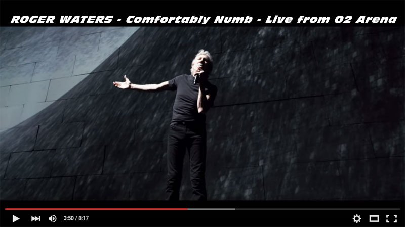 "VIDEO FLASHBACK: ""Comfortably Numb"" by David Gilmour & Roger Waters, Live at O2 Arena"