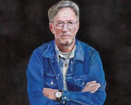 Album cover art for the upcoming album from Eric Clapton, I STILL DO. To be released in May 2016.