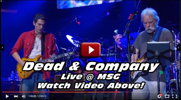 Going to see DEAD & COMPANY in Concert this Year? Here's a sample of what you're in for! Watch This!