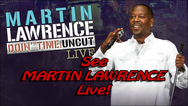 See Martin Lawrence perform his Doin' Time comedy standup routine. He is outrageously funny!