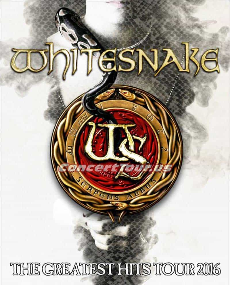 Whitesnake fans get ready! The band will be on tour this summer and will hopefully be performing at a venue near you.