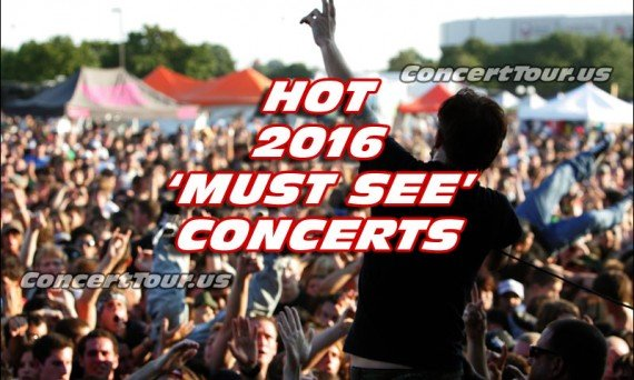 The rest of the 2016 year looks to be a good one for concert go-ers. Check out the above list of performers coming to a venue near you!