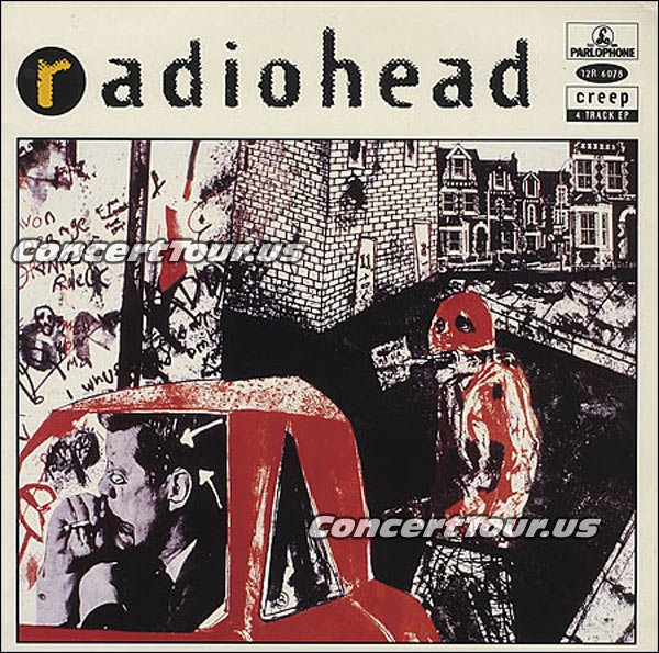 It's been somewhere around 4 (four) years since RADIOHEAD has been on an actual tour. Want to see them sing CREEP live in concert? Visit our RADIOHEAD TOUR page!