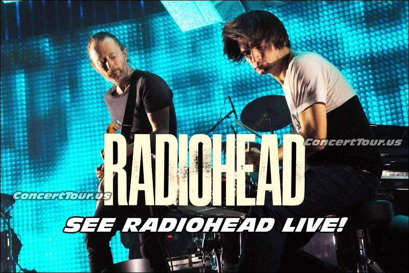 Radiohead fans can not wait! The band will be on tour this year and the shows are all sold out!