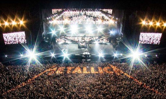 I don't know about you, but we can not wait to see Metallica Live in Concert!