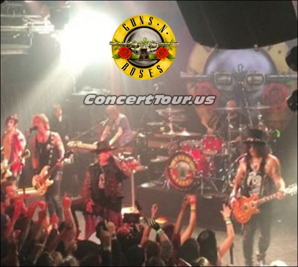 Check out Axl Rose and Slash who both blew the doors off of the Troubadour on April 1st.