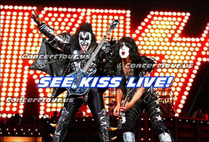 KISS, one of the longest lasting rock bands of all time. Catch their Freedom To Rock Tour this year, you won't regret it.