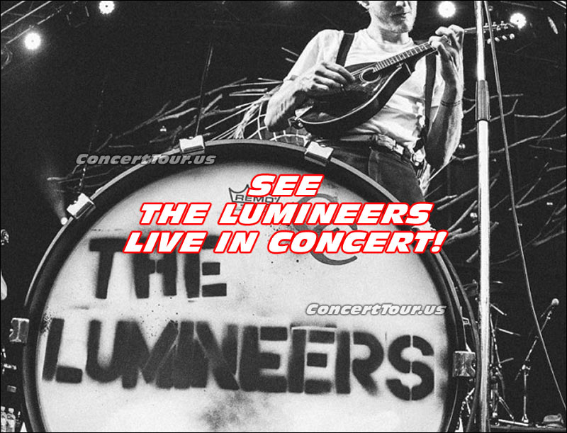 The Lumineers will be on the road, on tour, for a good portion of 2016. See them at a venue near you!