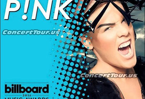 Don't Miss P!NK on May 22nd on the Billboard Music Awards Show! She's Performing LIVE!