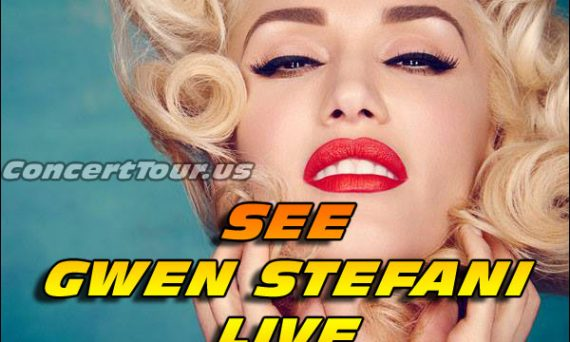 Gwen Stefani is not only an amazing entertainer and music icon, she's as beautiful as beautiful can get. See her live in concert!