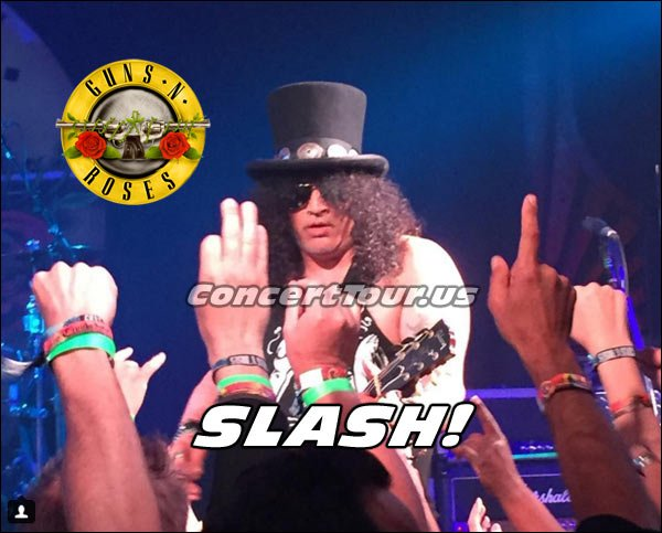 That's right! It's SLASH from the GnR Performance at The Troubadour.