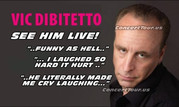 VIC DIBITETTO has become in internet sensation, and he's even funnier in person. You must see him live!