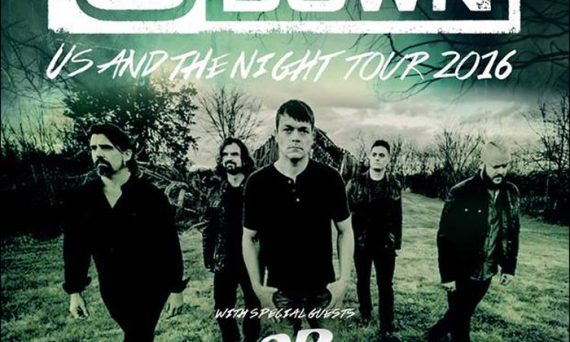 Don't miss 3 DOORS DOWN on their 2016 Fall Concert Tour!