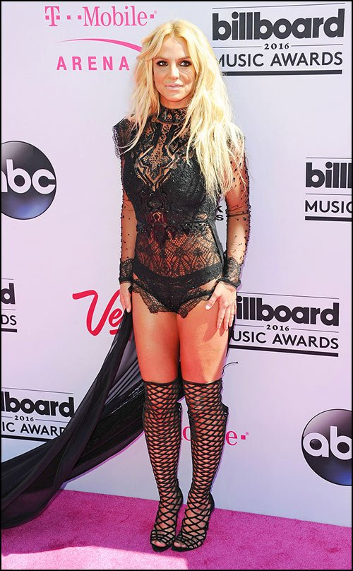 Britney Spears was nominated for and won the Special Millennium Award.