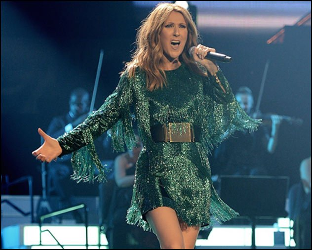 Don't miss your chance to see this amazing performer live! Celine Dion always puts on a great live show.