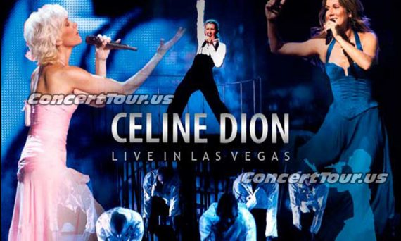 If you want to see Celine Dion live in concert, look no further than Las Vegas!