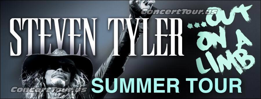 Aerosmith's Steven Tyler Announces 2016 Solo Tour aka Out On A Limb Tour.
