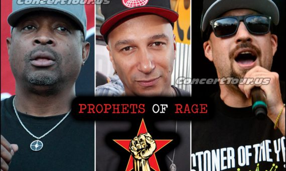 Prophets of Rage - Supergroup Formed by members of Rage Against The Machine, Public Enemy and Cypress Hill.