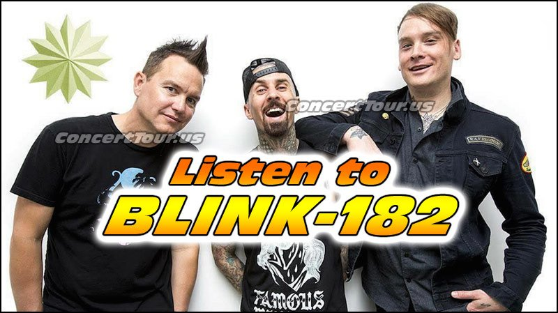 Check out the video here that shows the first time Blink-182 performs their new song Cynical LIVE!