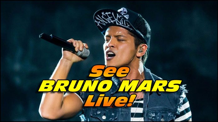 Will BRUNO MARS Announce More Show Dates For 2017? You'll Have To Wait and See!