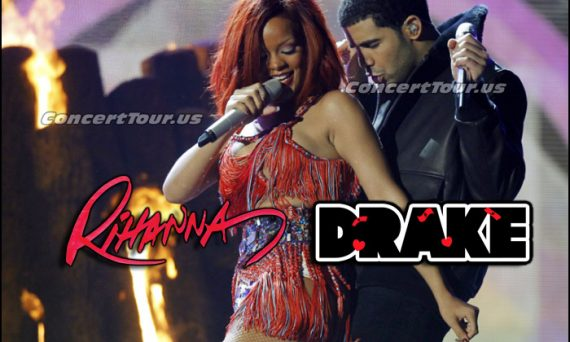 Drake and Rihanna perform 'What's My Name' at the 53rd annual Grammy Awards in Los Angeles, California February 13, 2011.