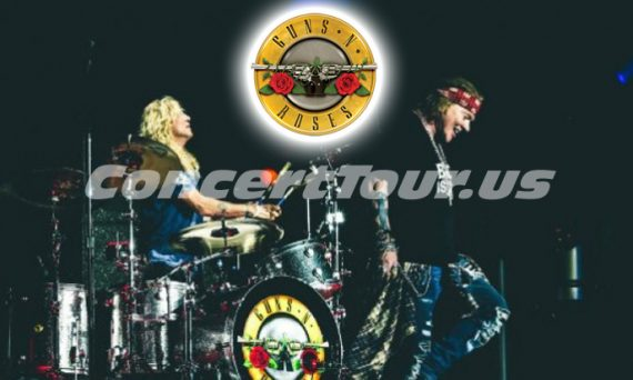 This shot was taken on the 2nd night of Steven Adler's surprise Guns N' Roses 'comeback'. Will it be permanent?