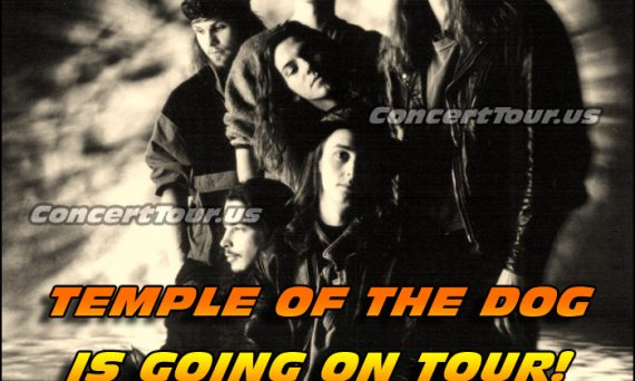 Temple Of The Dog is going on tour in late 2016. Don't miss your chance to see them live!