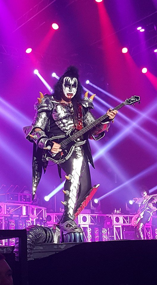 Gene Simmons looking great!