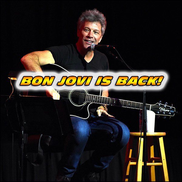 Hopefully after this Bon Jovi album is fully released, they will go on tour! Stay tuned for more Bon Jovi news!