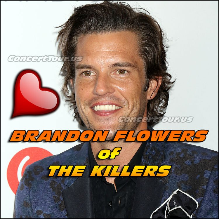 Everyone is eagerly awaiting for some sort of news from Brandon Flowers and The Killers. A Tour, New Music, give us something!
