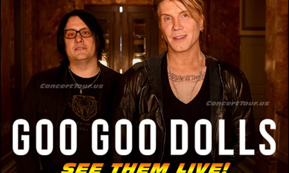 Don't miss your chance to see the Goo Goo Dolls live in concert!