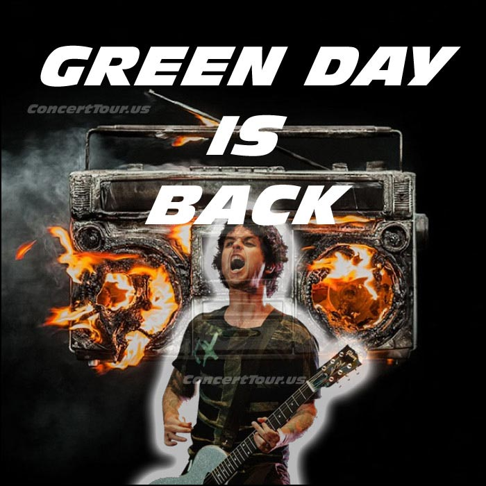 Looks like GREEN DAY is back! New Music video below for Bang Bang, and a whole new album Revolution Radio. We can not wait!