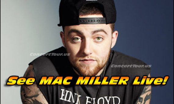 Don't miss your chance to see hip-hop rapper Mac Miller live in concert this year!