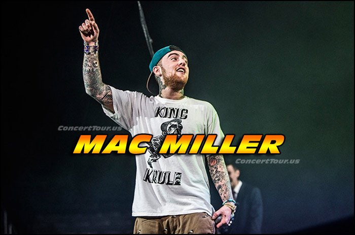 Here's a great picture of Mac Miller live, doing what he does best!