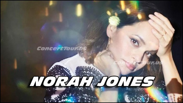 Norah Jones is amazing to experience live, so don't miss your chance if her show comes near you.
