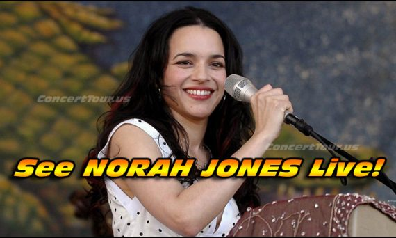 NORAH JONES Is Amazing! Don't Miss Your Chance To See Her Live In Concert!