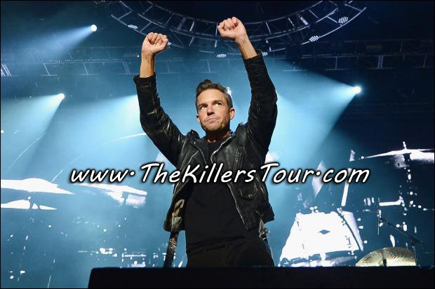 Don't miss your chance to see Brandon Flowers and The Killers!