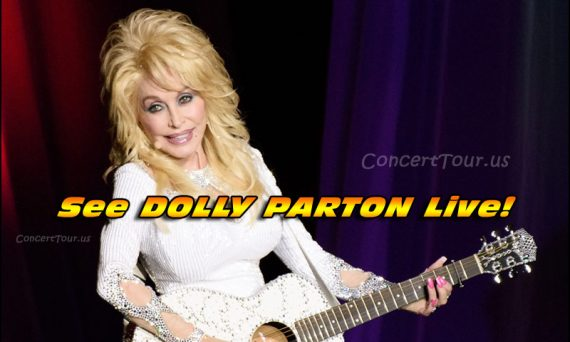 Don't miss your chance to see Dolly Parton live in concert!