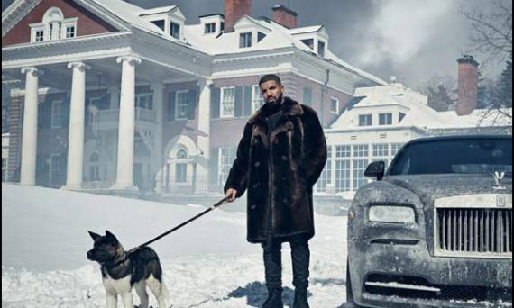 DRAKE got so tired of his neighbor complaining about the noise that he bought his house for $3 Million!