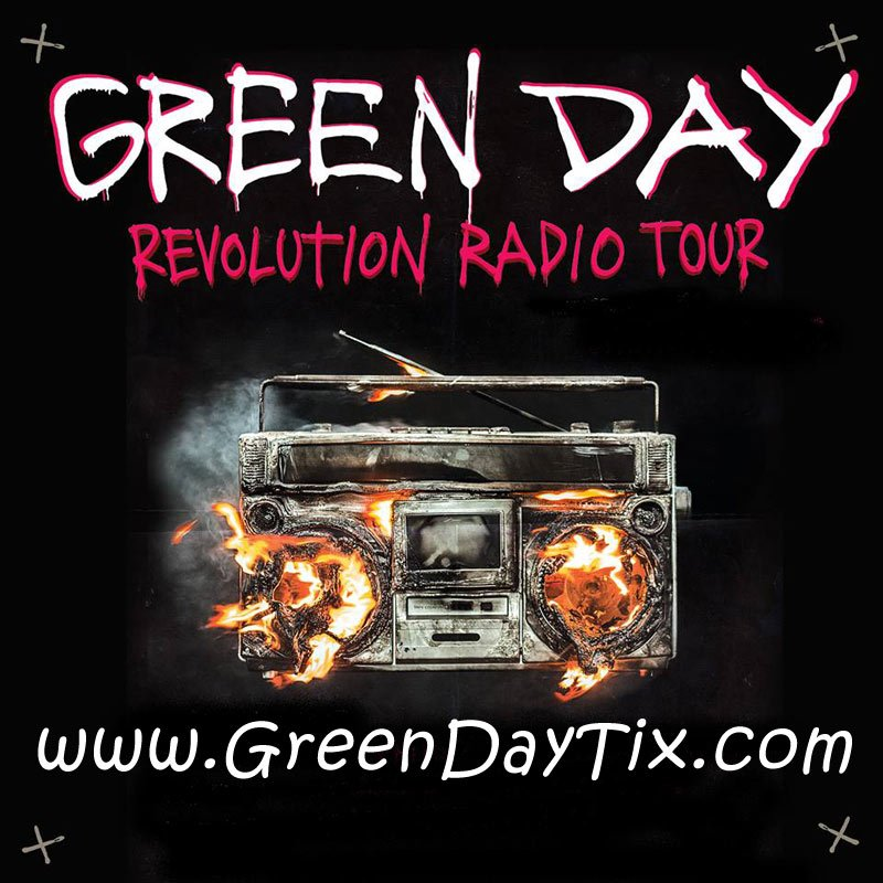 Don't miss your chance to see GREEN DAY live in concert! They put on a heck of a show!