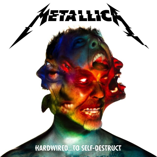 Here we can find the new artwork for the new Hardwired…To Self-Destruct album by Metallica.