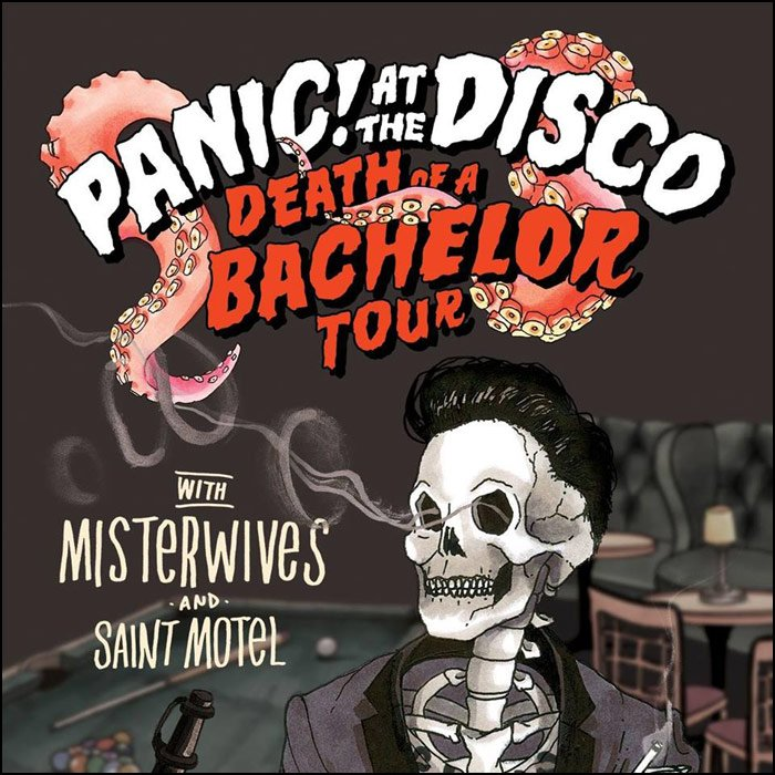 Panic at the disco tour dates